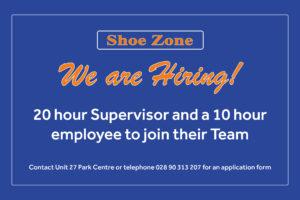Shoezone Job Advert