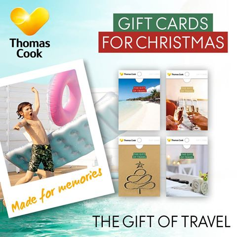 Thomas Cook Gift Card