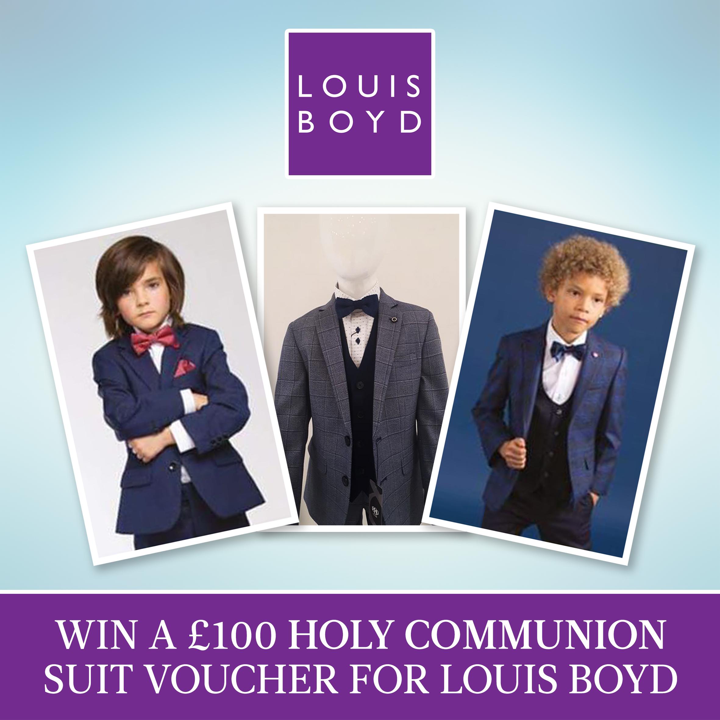 Louis Boyd Suit Competition